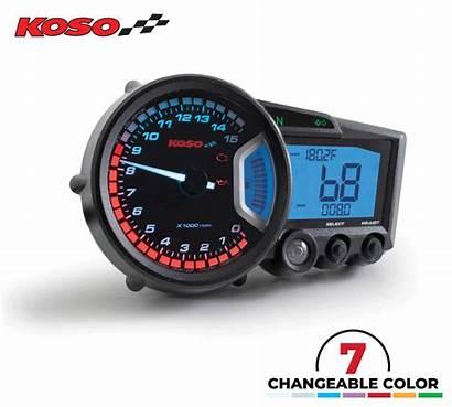 Koso Dash Rx2 Speedometer Motorcycle Multifunction Digital