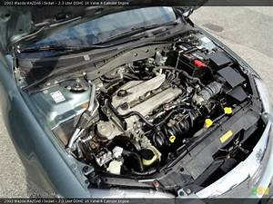2 3 Liter Dohc 16 Valve 4 Cylinder Engine For The 2003 Mazda Mazda6  51471486