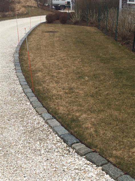 driveway edging belgium block driveway edging with structural turf overflow parking area pinterest driveway