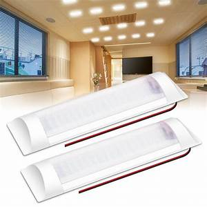 Led, Interior, Lighting, Ambother, 2, X, 72, Led, Interior, Lighting, 12v, Ceiling, Lamp, With, Switch, Rv