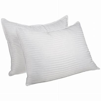 Pillows Striped Pillow Alternative Down Luxurious Egyptian
