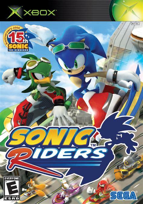 sonic riders xbox