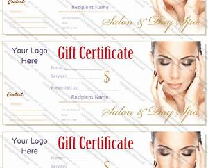 gift certificate templates With beauty gift certificate template free