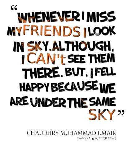 missing friends quotes quotesgram