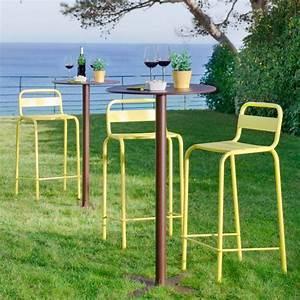 Chaise De Bar Exterieur : 31 id es d co de mobilier de salon de jardin ~ Melissatoandfro.com Idées de Décoration