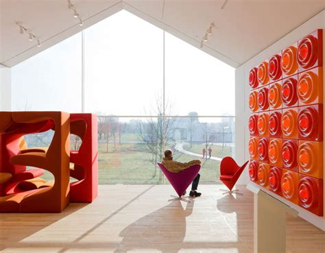Dining Chair Upholstery by Verner Panton Heart Chair Hivemodern Com