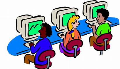 Clipart Classroom Lab Computers Computer Language Independent