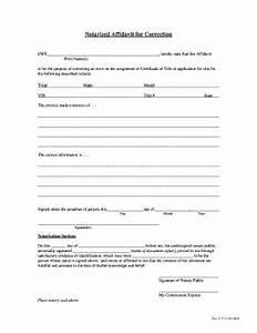 Texas Notary Format Sample Of Notarized Affidavit Audreybraun