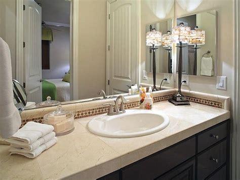 bathroom countertops ideas how to decorate bathroom counter home design 2017
