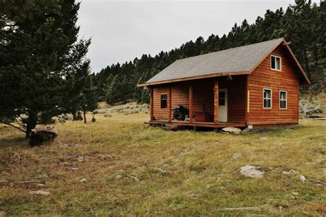 cabin and land for montana grid recreational cabin acreage