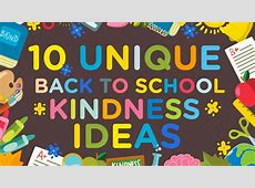 Random Acts of Kindness The Kindness Blog 10 Unique