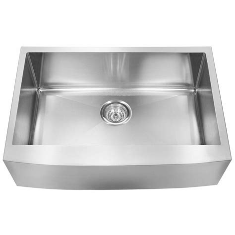franke sink home depot franke farmhouse undermount stainless steel 33x20 75x10 18