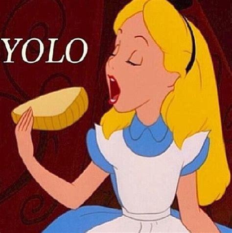 Alice Meme - alice in wonderland yolo disney meme disney pinterest disney meme and wonderland