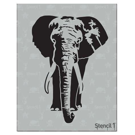 stencil elephant stencil   home depot