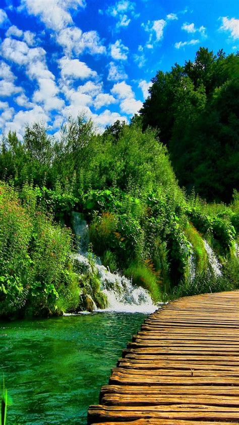 plitvice lakes national park croatia  wallpapers
