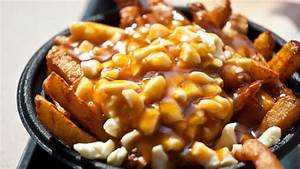 Poutine at La Belle Province restaurant in Montreal ...