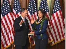 Tulsi Gabbard Takes The Oath of Office Over The Bhagavad