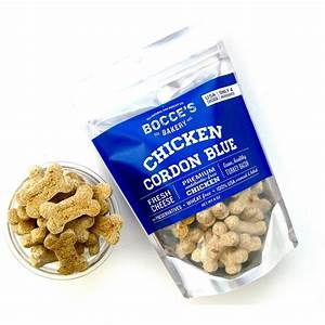 Bocce39s bakery chicken cordon blue dog biscuits for Bocce dog treats