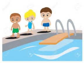 Kids Swimming Pool Clip Art