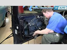 How to Replace Power Window Motor 0305 Chevy Impala YouTube