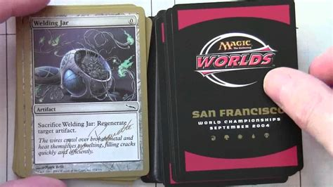 mtg world chionship decks 1996 magic the gathering worlds 2004 san fransisco decks aeo