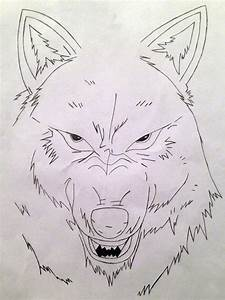 Snarling Wolf by Overmas by Overmas on DeviantArt