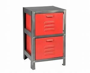 Table De Chevet Rouge : table de chevet rouge ~ Preciouscoupons.com Idées de Décoration