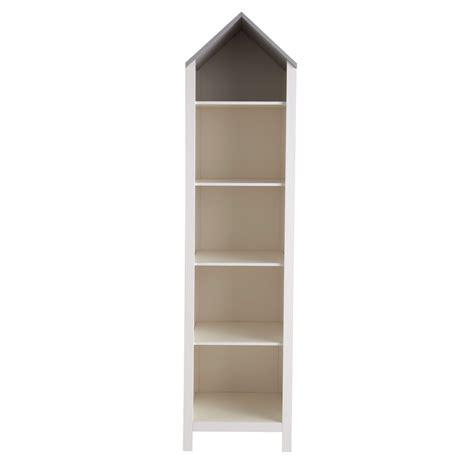 petit dressing chambre bibliothèque maison enfant en bois blanche l 45 cm songe