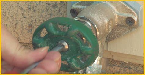 [video] Diy Tip Repairing A Leaking Outdoor Faucet, How