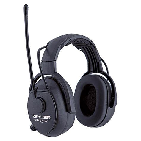 gehörschutz mit radio zekler geh 246 rschutz 412 r fm radio schwarz bauhaus