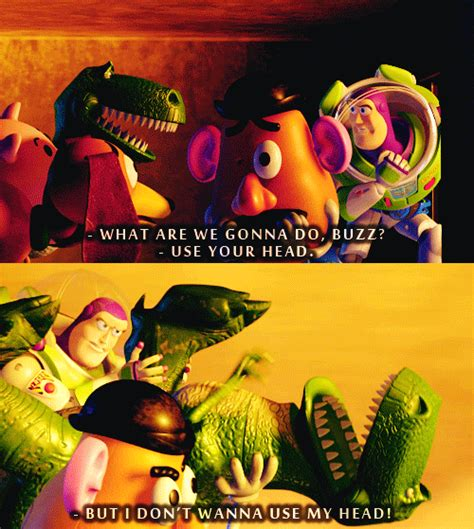 Funny Toy Story Rex Quotes