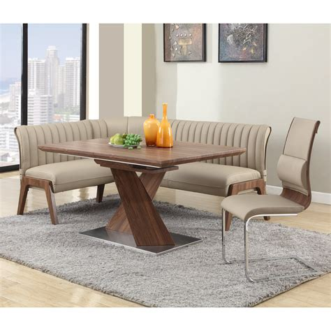 chintaly bethany  piece nook dining set dining table
