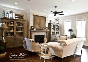 Country Inspired Living Rooms Image