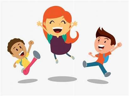 Clipart Happy Children Face Cheering Transparent Clipartkey