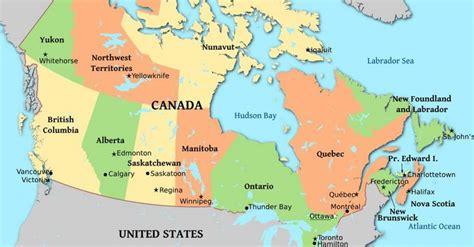capitals  canadian provinces territories