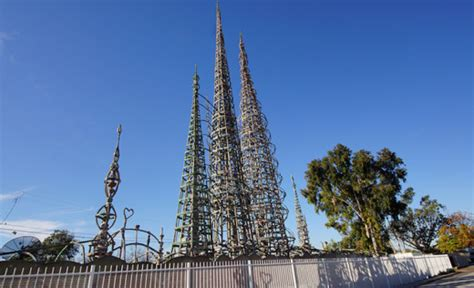 watts towers  simon rodia state historic park los
