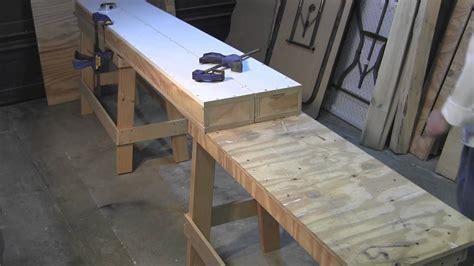 build   portable modular work bench