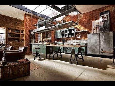 worlds  beautiful industrial kitchen designs youtube