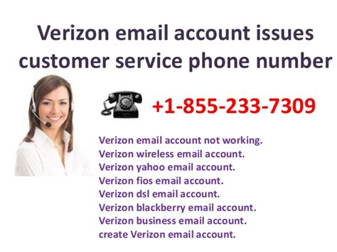 fios customer service phone number verizon mail account issues 1 855 233 7309 verizon mail