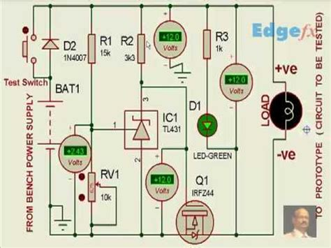 Over Voltage Protection Circuit Electrical