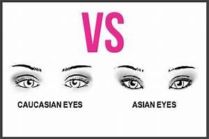Crease and Contour Eyeshadow: Asian Eyes VS Caucasian Eyes ...