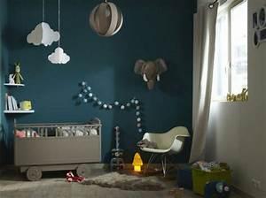 Idée Déco Chambre Bébé Garçon : decoration chambre garcon bleu ~ Nature-et-papiers.com Idées de Décoration