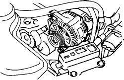 Chevy Metro Alternator Wiring solved how to install alternator belt diagram fixya