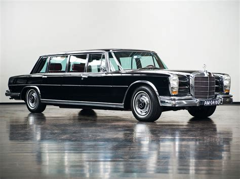 Mercedes benz s600 pullman limousine's average market price (msrp) is found to be from $192,000 to $311,000. Mercedes Benz 600 Pullman Limousine - 1967