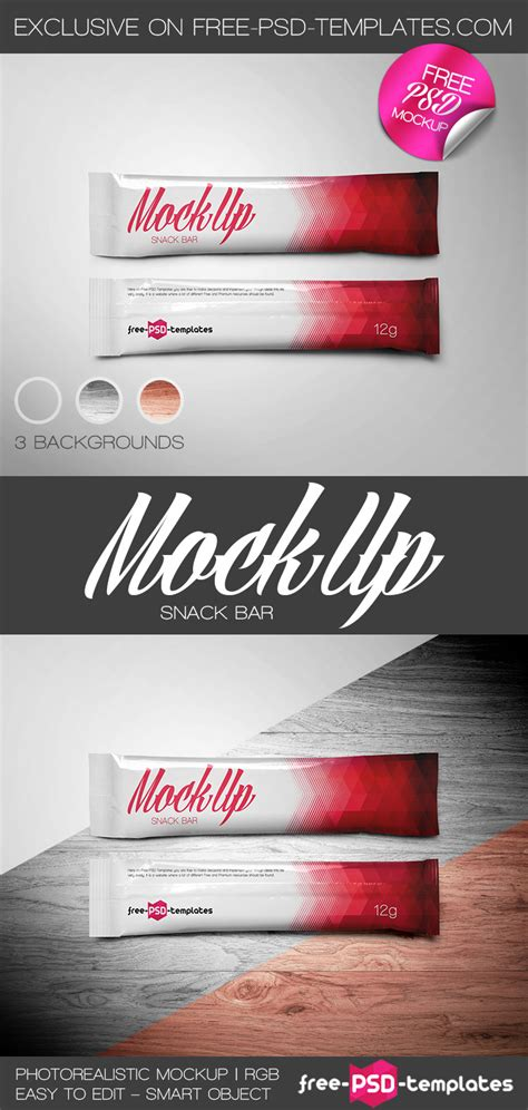 Best chocolate box mockup | 22+ free & premium chocolate packaging psd this box mockup can contain different chocolate bars. Free Snack Bar Mock-up in PSD on Behance