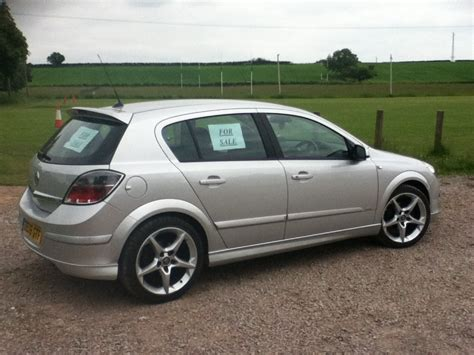 vauxhall astra 2006 2006 vauxhall astra 1 8 sri exterior pack silver 72000
