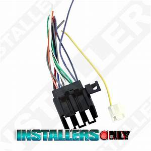 Aftermarket Car Stereo  Radio Wiring Harness  Pontiac 1677