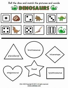 Collection Of Dinosaur Fossil Worksheets Download Them