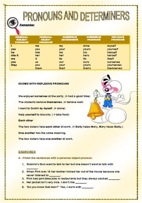 determiners worksheets for class 4 english grammar 20