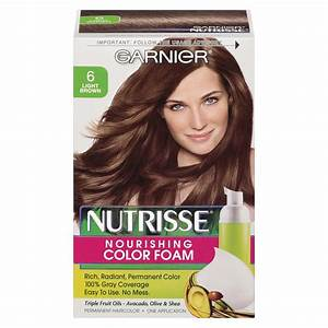 Garnier Nutrisse Permanent Hair Color 63 Light Golden ...